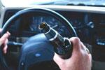 За рулем нетрезвый водитель