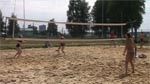 Пляжный волейбол и воркаут в день города