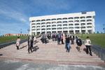 Массовая эвакуация во Владимире