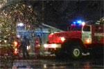 Пожар на ул.Челюскинцев