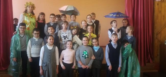 Праздник осени прошел в школе №4