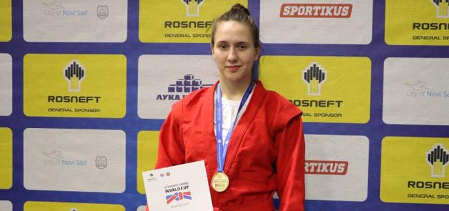 Анастасия Хомячкова: «золото» на Кубке Мира по самбо