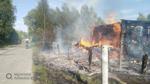 На пожаре погиб ребенок