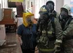 Пожарные тоже готовятся к 1 сентября