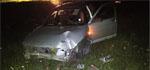 Пьяный водитель не справился с управлением