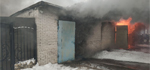 Сгорели 2 гаража и два автомобиля