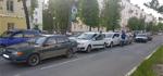 Массовое ДТП на проспекте Ленина